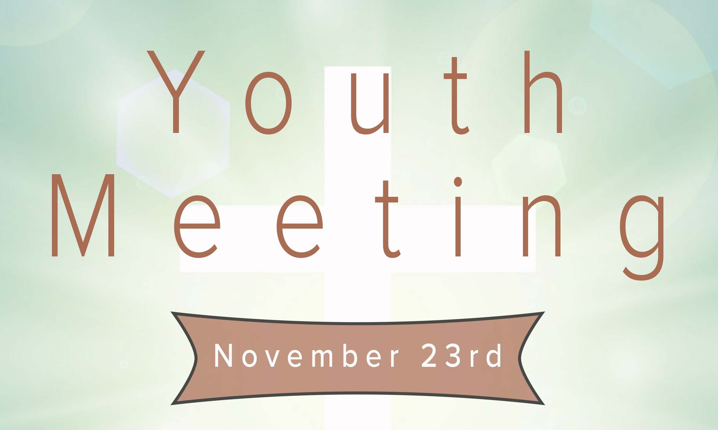 Youth Meeting